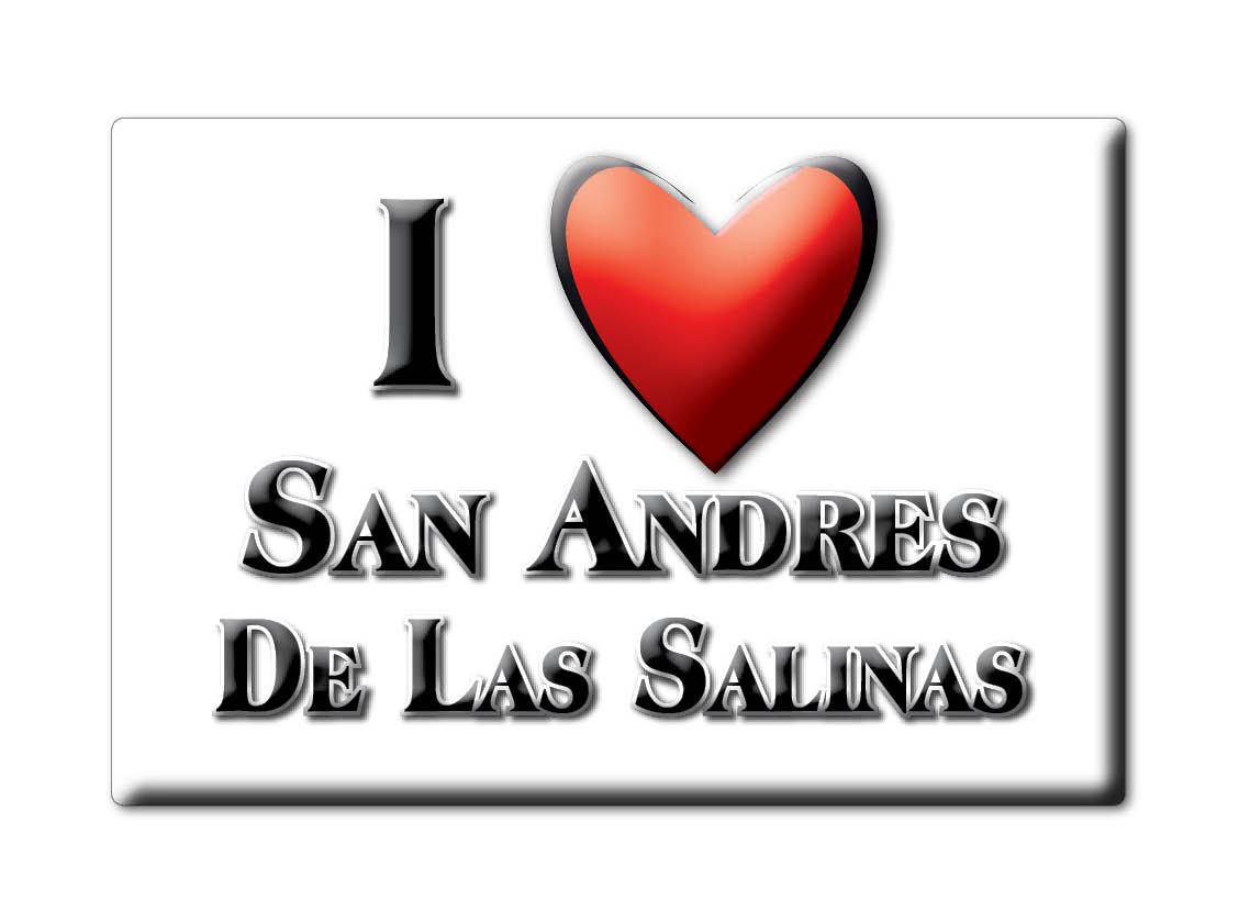 MEXICO-SOUVENIR-FRIDGE-MAGNET-IMAN-DE-NEVERA-I-LOVE-SAN-ANDRES-DE-LAS-SALINAS