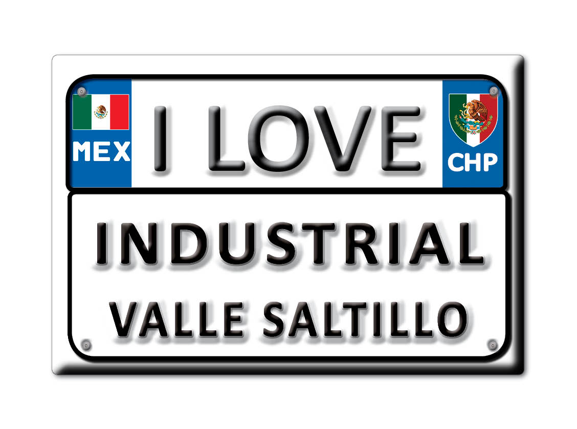MEXICO-SOUVENIR-FRIDGE-MAGNET-IMAN-DE-NEVERA-I-LOVE-INDUSTRIAL-VALLE-SALTILLO