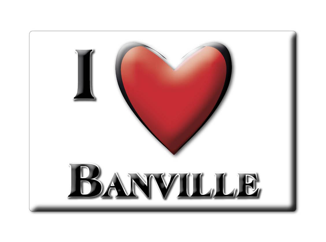 BANVILLE (14) MAGNETS FRANCE RHÔNE ALPESCALAMITA SOUVENIR AIMANT I LOVE wzkrsOzK-09171135-830129623