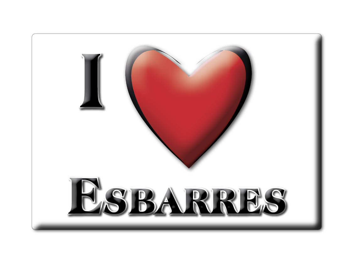 ESBARRES (21) MAGNETS FRANCE RHÔNE ALPESCALAMITA SOUVENIR AIMANT I LOVE dqOzHmQY-09171135-445019574