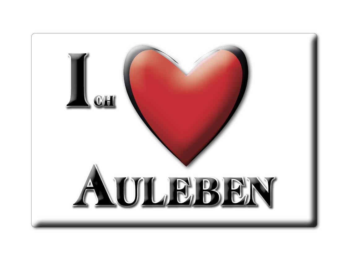 DEUTSCHLAND-SOUVENIR-THURINGEN-KUHLSCHRANKMAGNET-ICH-LIEBE-I-LOVE-AULEBEN-TH