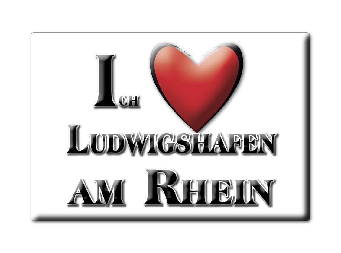 Ludwigshafen Am Rhein Germany Fridge Magnet Souvenir Magnet Kühlschrank