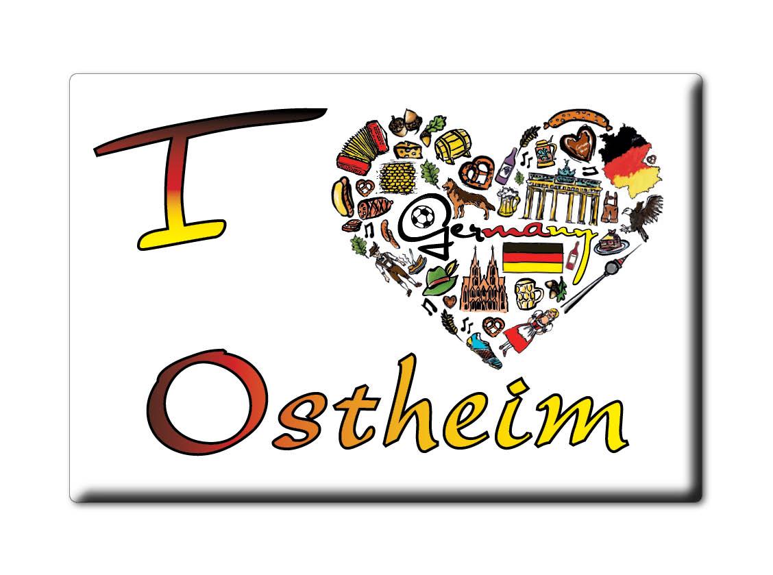 DEUTSCHLAND-SOUVENIR-HESSEN-KUHLSCHRANKMAGNET-ICH-LIEBE-I-LOVE-OSTHEIM-HE