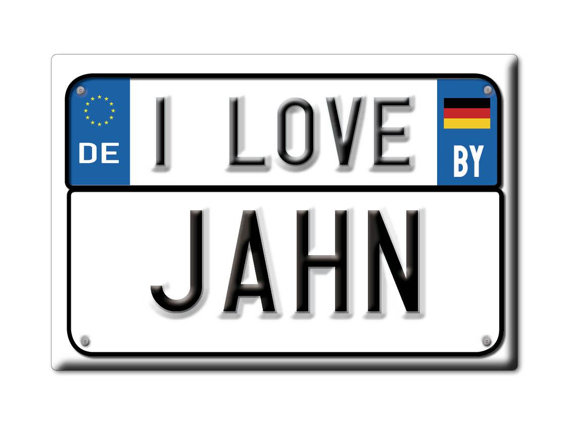 DEUTSCHLAND-SOUVENIR-BAYERN-KUHLSCHRANKMAGNET-ICH-LIEBE-I-LOVE-JAHN-BY