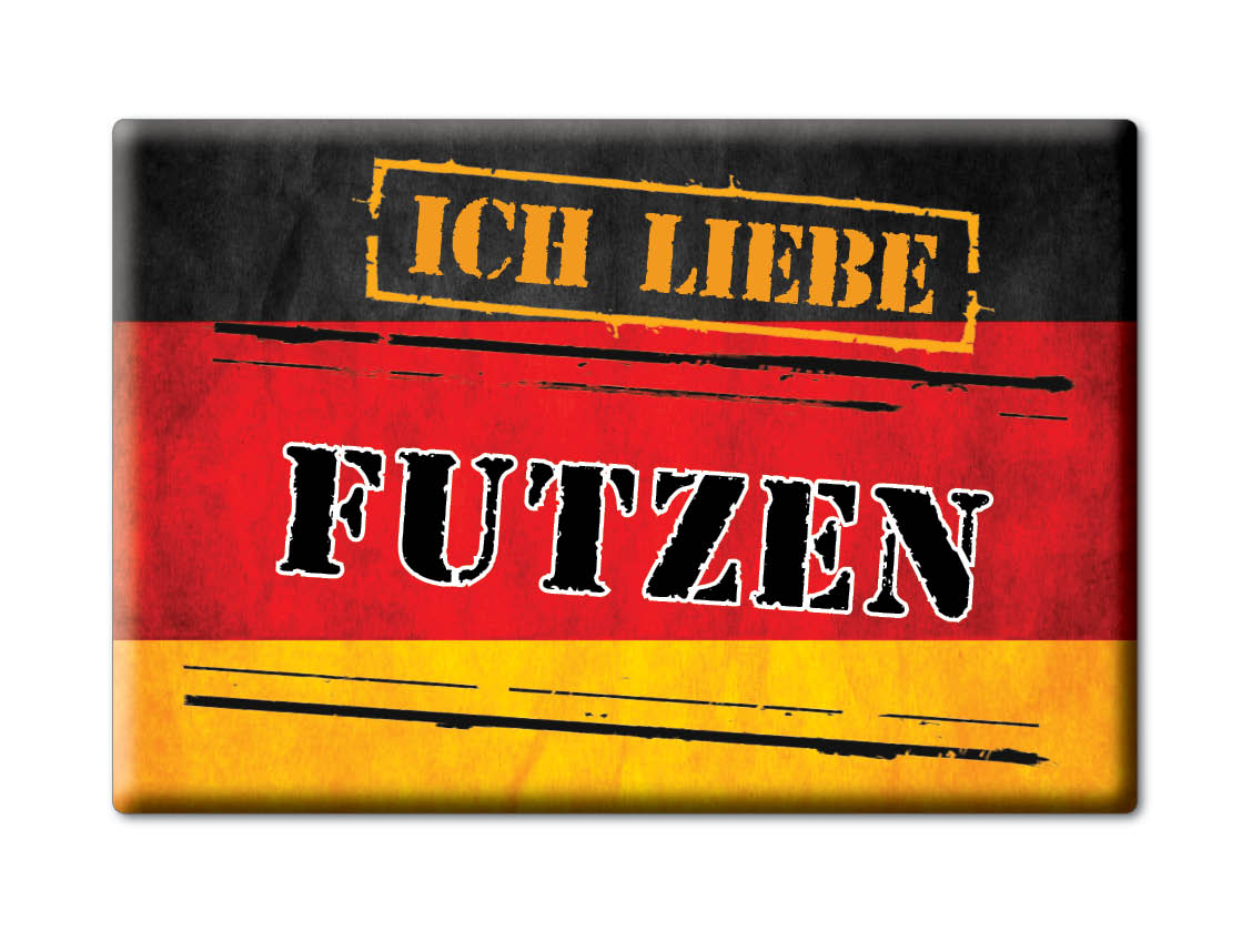 DEUTSCHLAND-SOUVENIR-BADEN-WURTTEMBERG-KUHLSCHRANKMAGNET-ICH-LIEBE-FUTZEN-BW