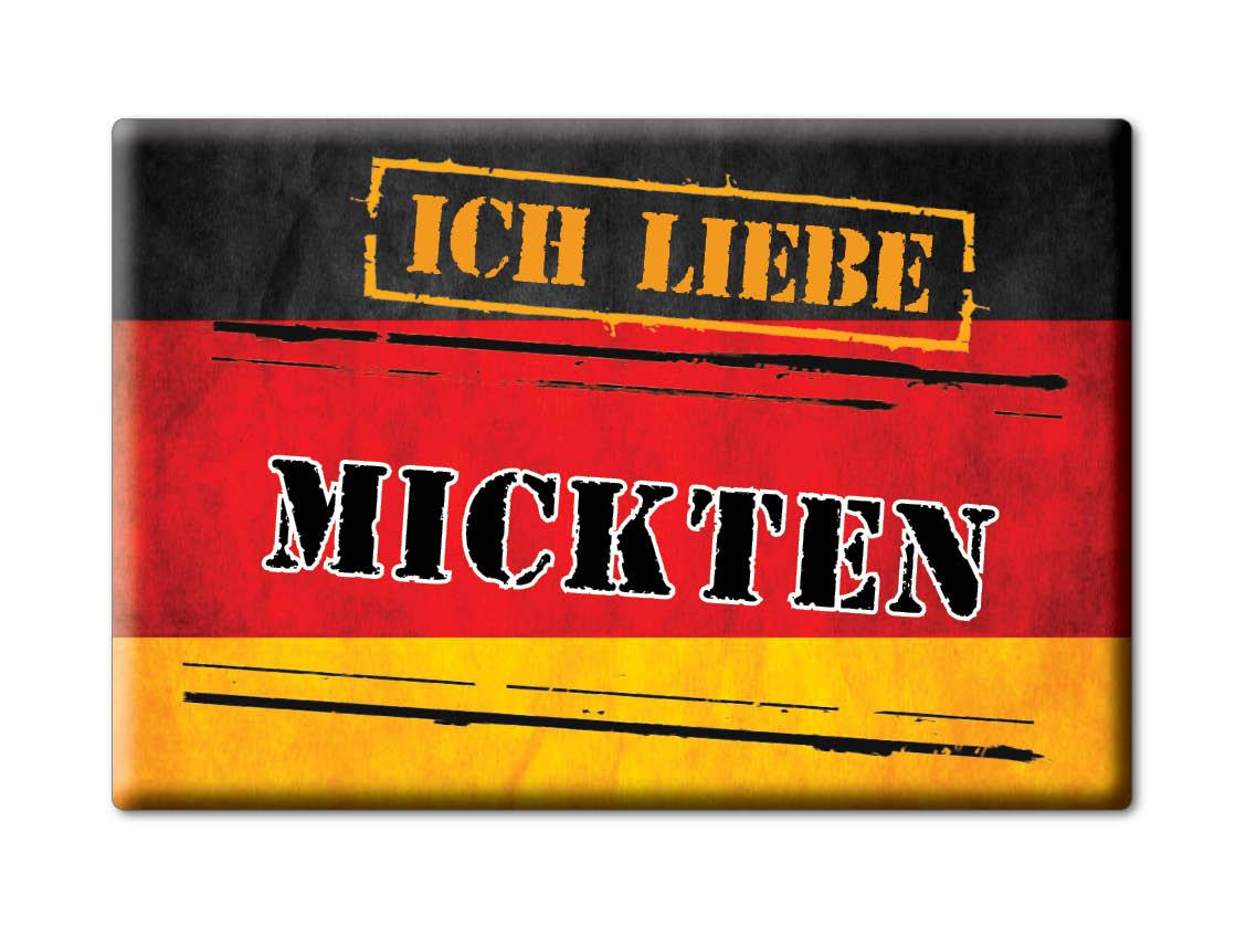 DEUTSCHLAND-SOUVENIR-SACHSEN-KUHLSCHRANKMAGNET-ICH-LIEBE-I-LOVE-MICKTEN-SN