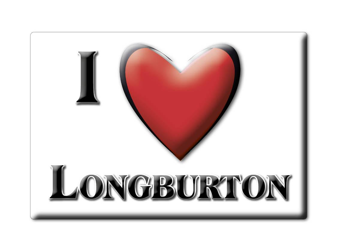 SOUVENIR-UK-ENGLAND-DORSET-FRIDGE-MAGNET-UK-I-LOVE-LONGBURTON-ENG
