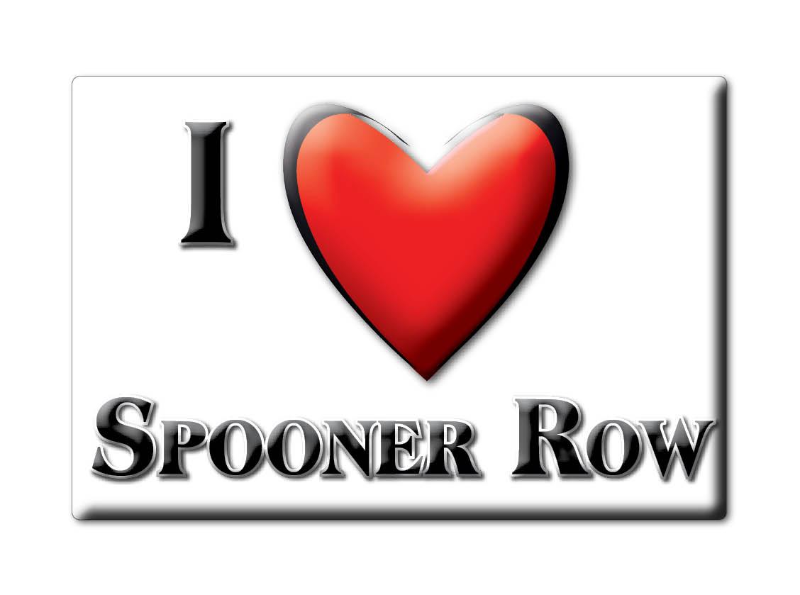 SOUVENIR-UK-ENGLAND-NORFOLK-FRIDGE-MAGNET-UK-I-LOVE-SPOONER-ROW-ENG