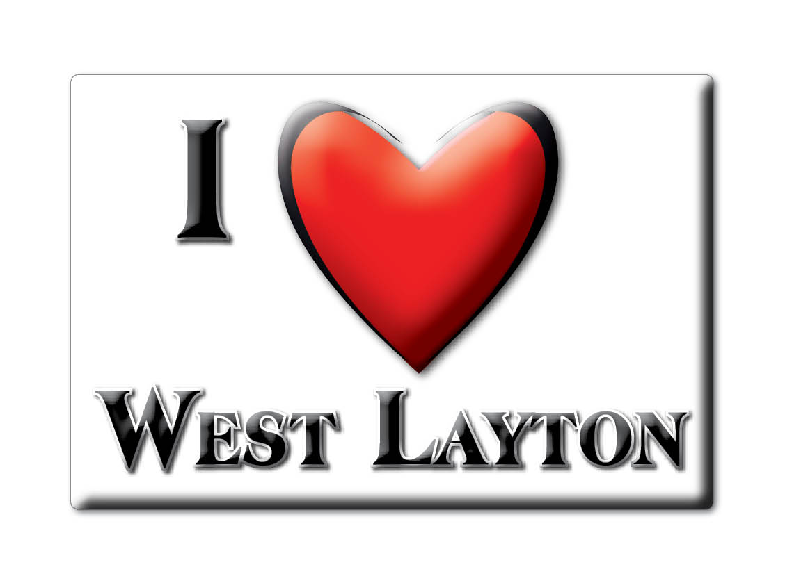 SOUVENIR-UK-ENGLAND-NORTH-YORKSHIRE-FRIDGE-MAGNET-UK-I-LOVE-WEST-LAYTON-ENG