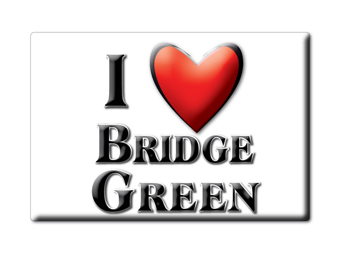 SOUVENIR-UK-ENGLAND-ESSEX-FRIDGE-MAGNET-UK-I-LOVE-BRIDGE-GREEN-ENG