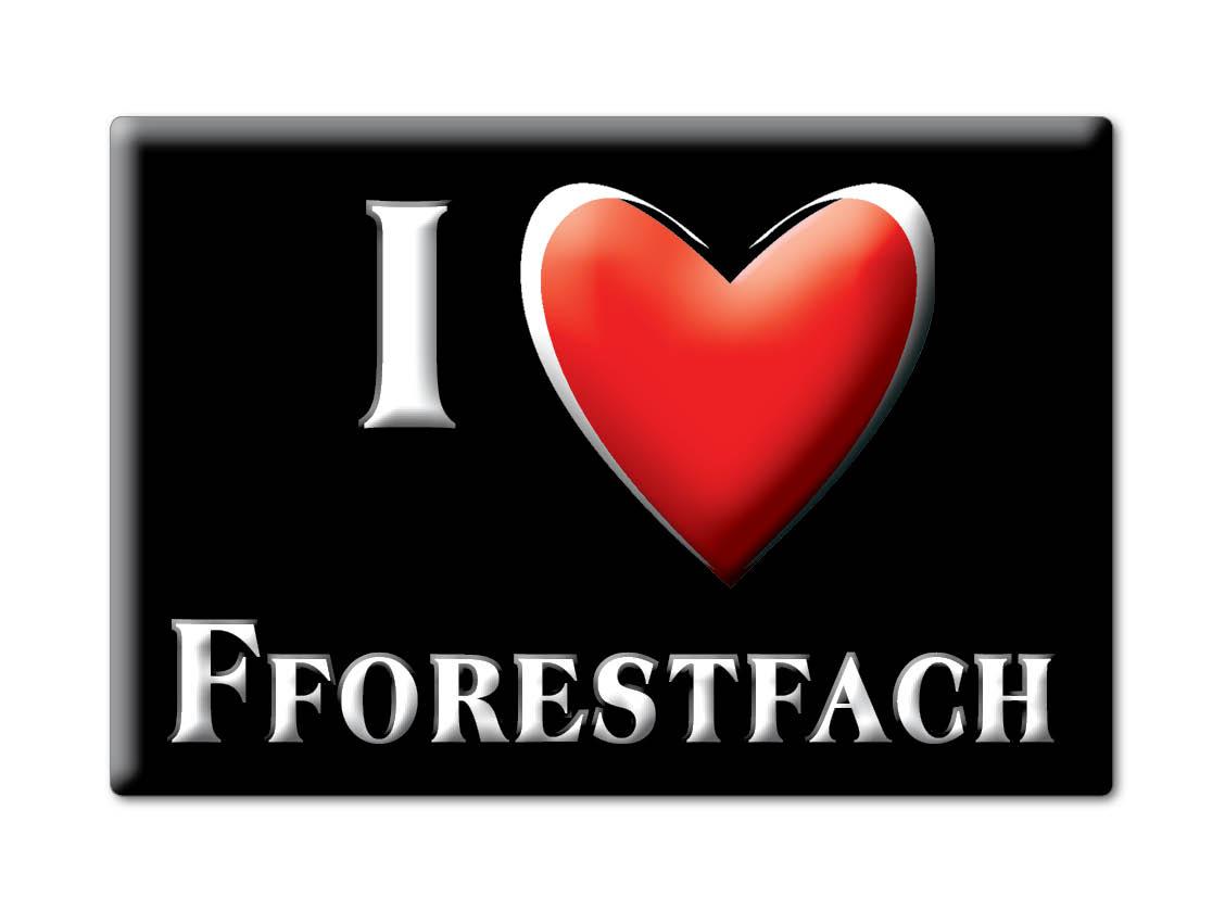SOUVENIR-UK-WALES-SWANSEA-FRIDGE-MAGNET-UK-I-LOVE-FFORESTFACH-CYM