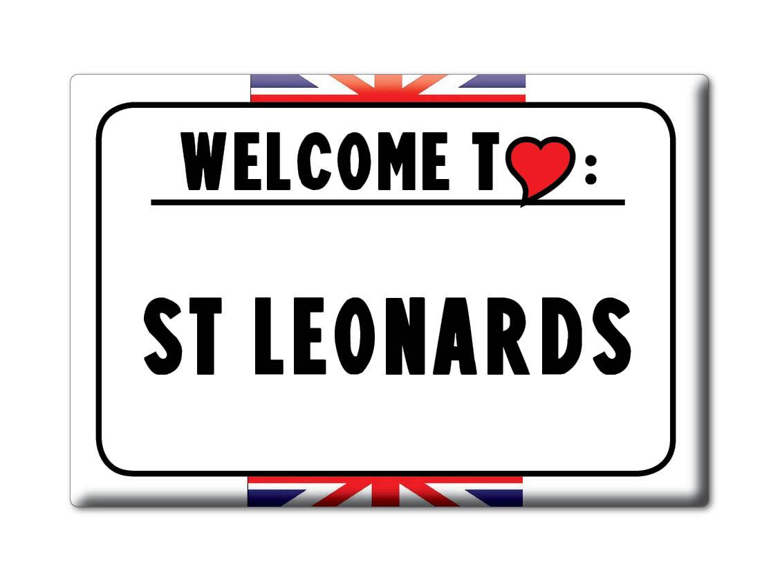 SOUVENIR-UK-ENGLAND-EAST-SUSSEX-FRIDGE-MAGNET-UK-I-LOVE-ST-LEONARDS-ENG