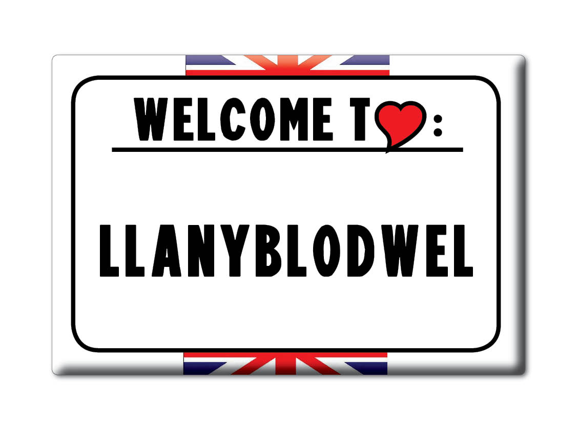 SOUVENIR-UK-ENGLAND-SHROPSHIRE-FRIDGE-MAGNET-UK-I-LOVE-LLANYBLODWEL-ENG