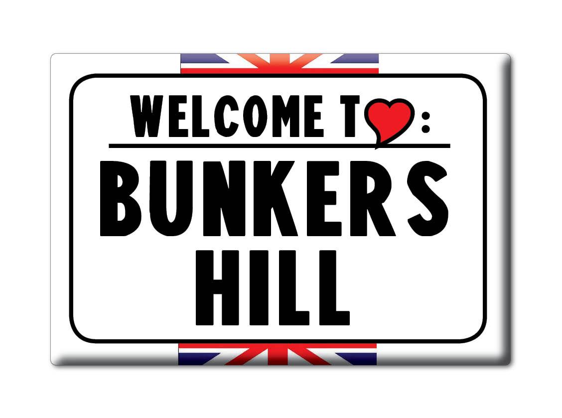 SOUVENIR-UK-ENGLAND-CHESHIRE-FRIDGE-MAGNET-UK-I-LOVE-BUNKERS-HILL-ENG