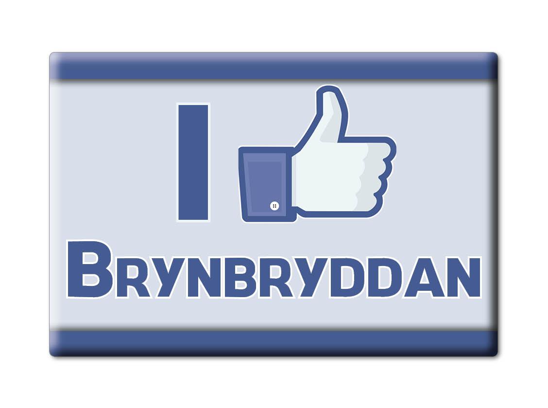SOUVENIR-UK-WALES-NEATH-PORT-TALBOT-FRIDGE-MAGNET-UK-I-LOVE-BRYNBRYDDAN-CYM