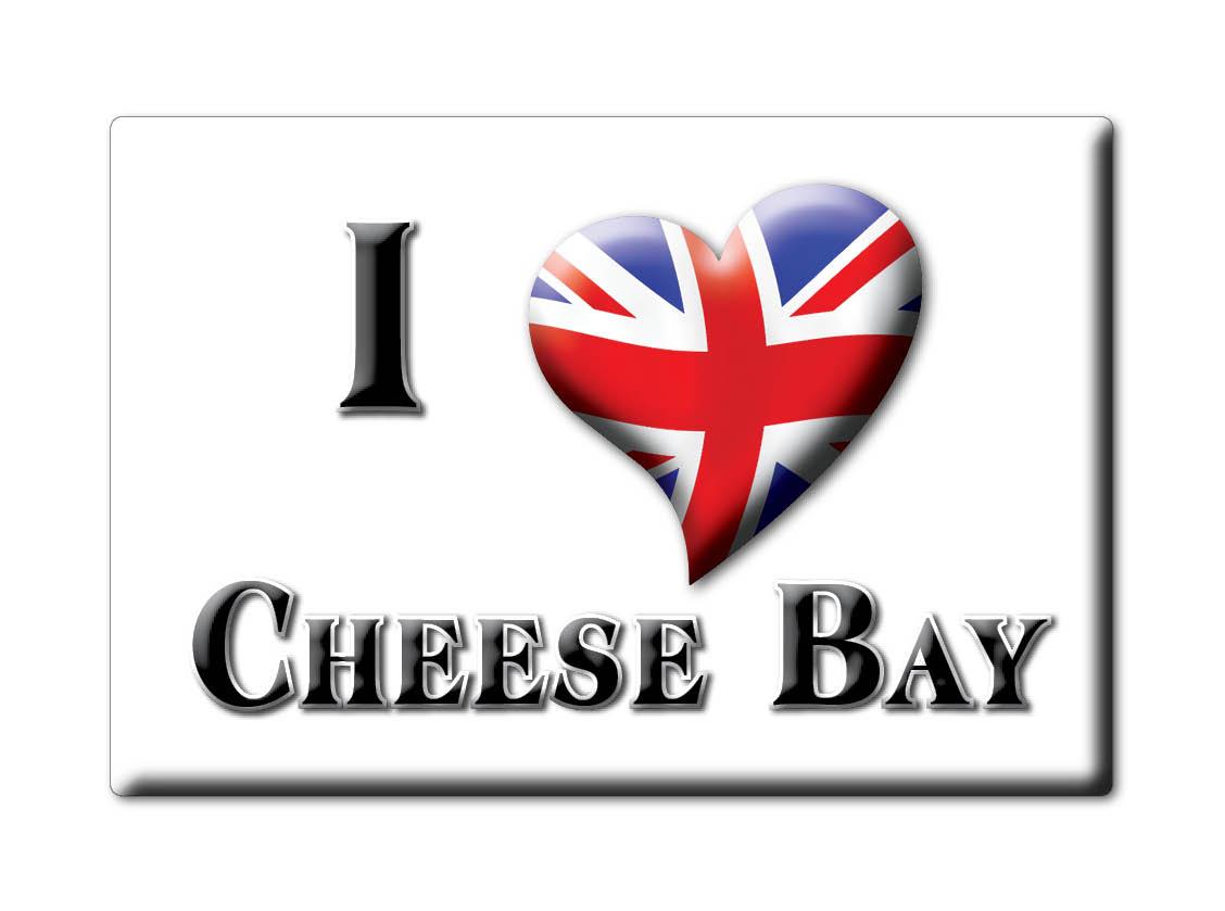 SOUVENIR-UK-SCOTLAND-WESTERN-ISLES-FRIDGE-MAGNET-UK-I-LOVE-CHEESE-BAY-SCO