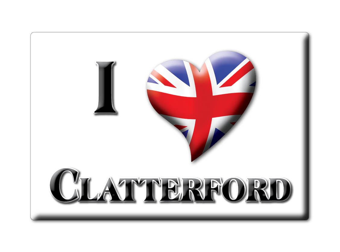 SOUVENIR-UK-ENGLAND-ISLE-OF-WIGHT-FRIDGE-MAGNET-UK-I-LOVE-CLATTERFORD-ENG