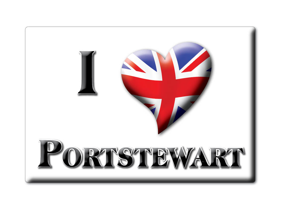SOUVENIR-UK-NORTHERN-IRELAND-COUNTY-LONDONDERRY-MAGNET-PORTSTEWART-IRL