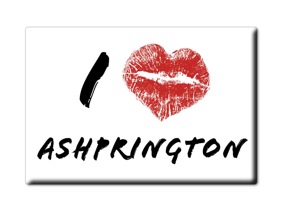 SOUVENIR-UK-ENGLAND-DEVON-FRIDGE-MAGNET-UK-I-LOVE-ASHPRINGTON-ENG