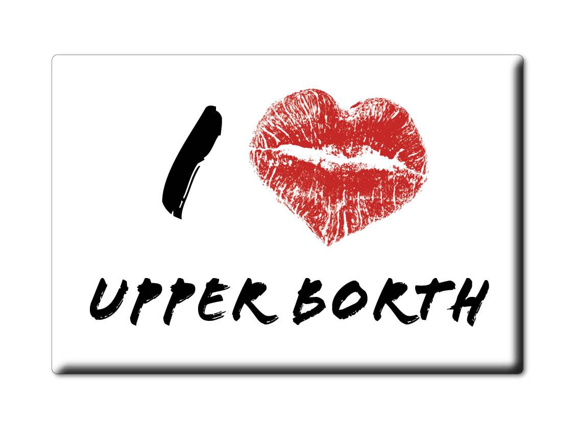 SOUVENIR-UK-WALES-CEREDIGION-FRIDGE-MAGNET-UK-I-LOVE-UPPER-BORTH-CYM
