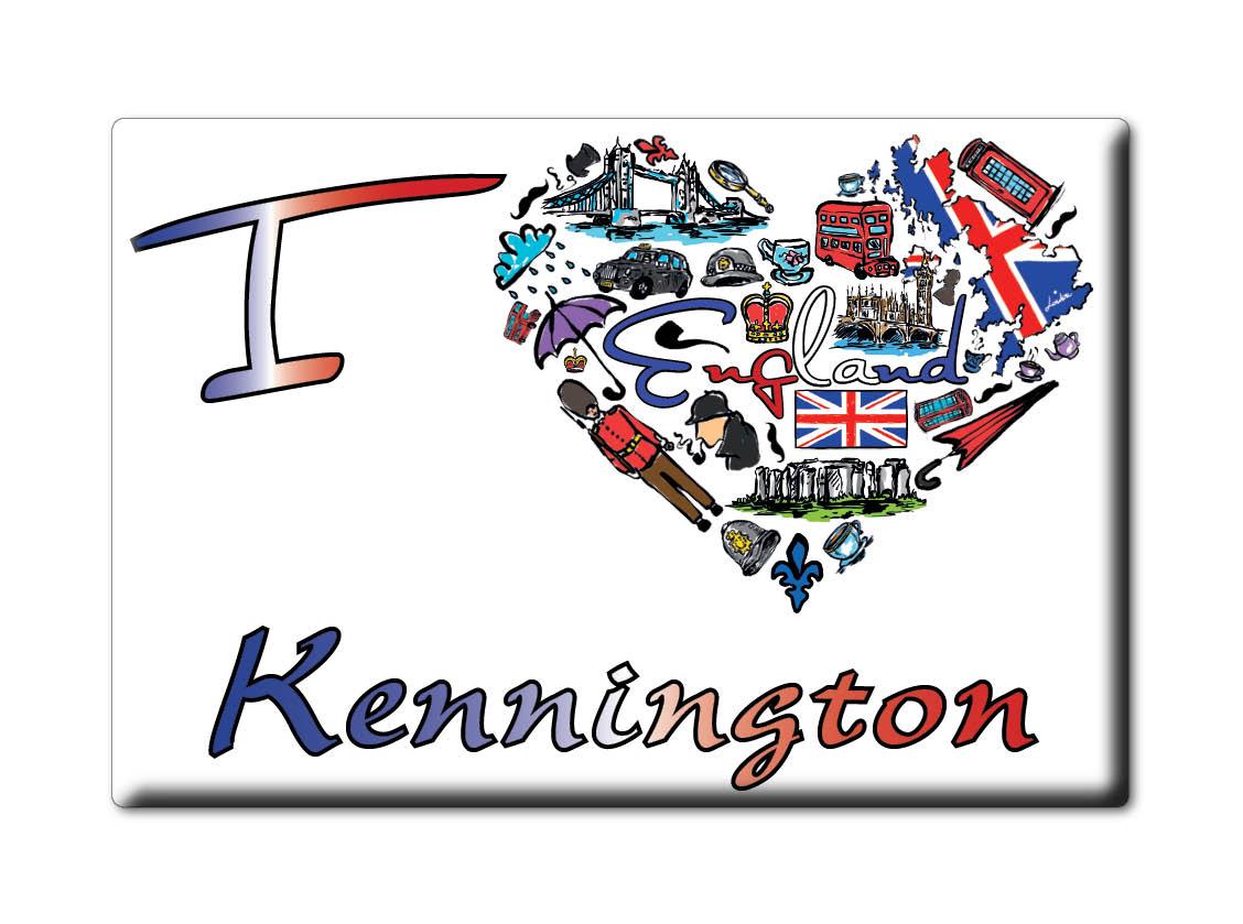 SOUVENIR-UK-ENGLAND-KENT-FRIDGE-MAGNET-UK-I-LOVE-KENNINGTON-ENG