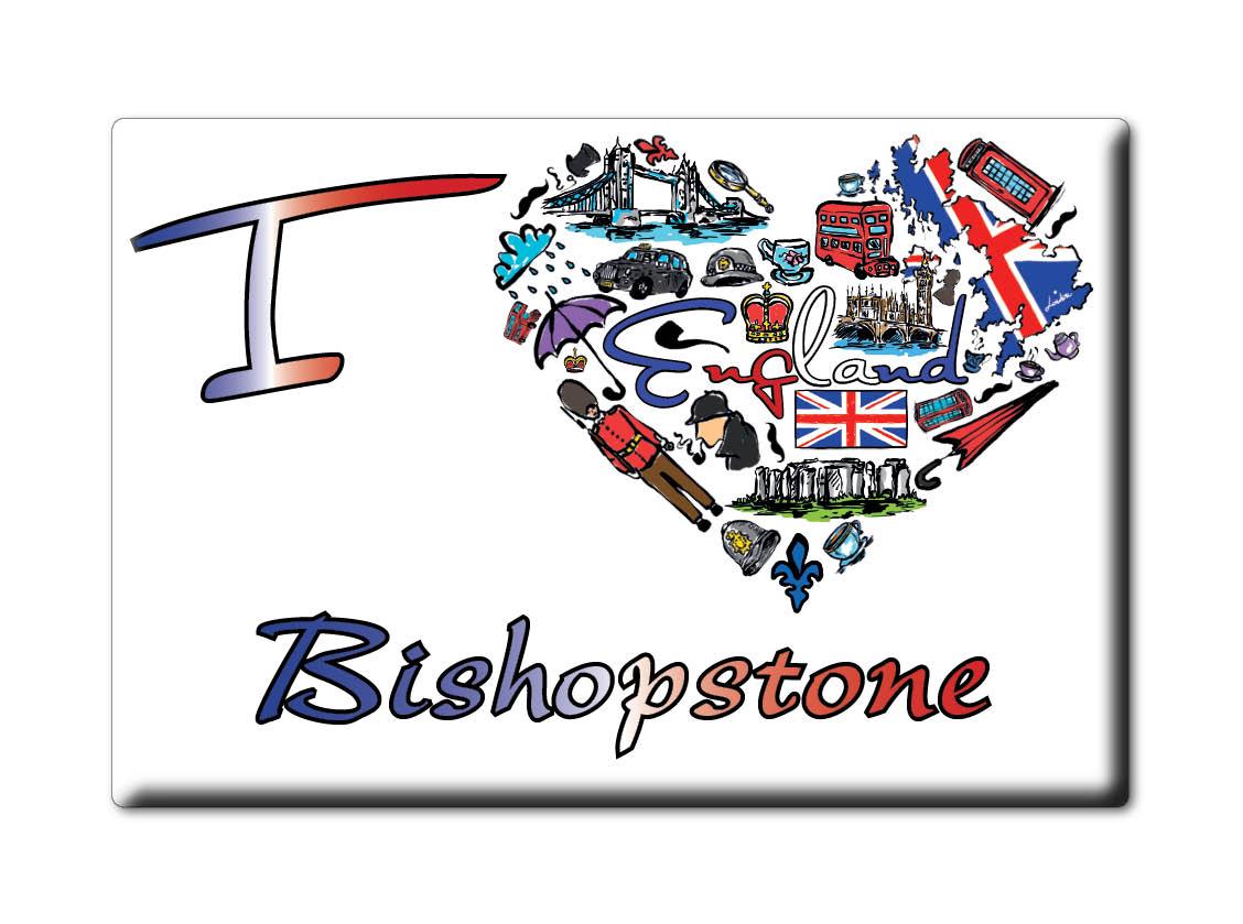 SOUVENIR-UK-ENGLAND-EAST-SUSSEX-FRIDGE-MAGNET-UK-I-LOVE-BISHOPSTONE-ENG