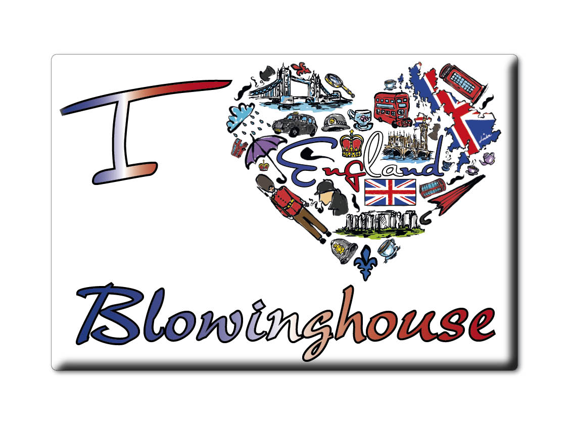SOUVENIR-UK-ENGLAND-CORNWALL-FRIDGE-MAGNET-UK-I-LOVE-BLOWINGHOUSE-ENG