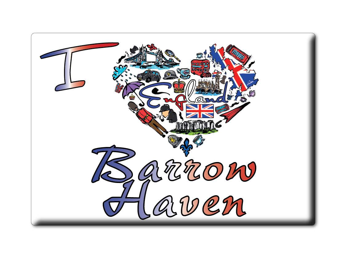 SOUVENIR-UK-ENGLAND-LINCOLNSHIRE-FRIDGE-MAGNET-UK-I-LOVE-BARROW-HAVEN-ENG
