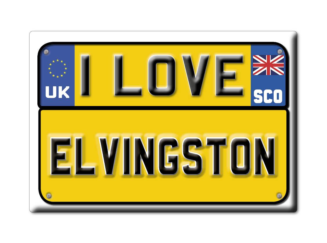 SOUVENIR-UK-SCOTLAND-EAST-LOTHIAN-FRIDGE-MAGNET-UK-I-LOVE-ELVINGSTON-SCO