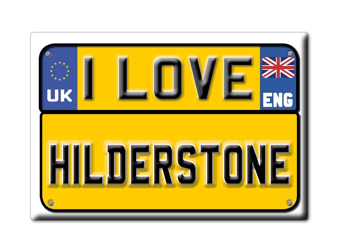 SOUVENIR-UK-ENGLAND-STAFFORDSHIRE-FRIDGE-MAGNET-UK-I-LOVE-HILDERSTONE-ENG