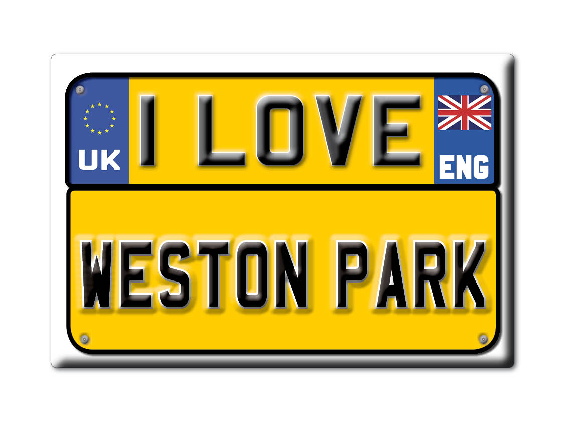 SOUVENIR-UK-ENGLAND-SOMERSET-FRIDGE-MAGNET-UK-I-LOVE-WESTON-PARK-ENG