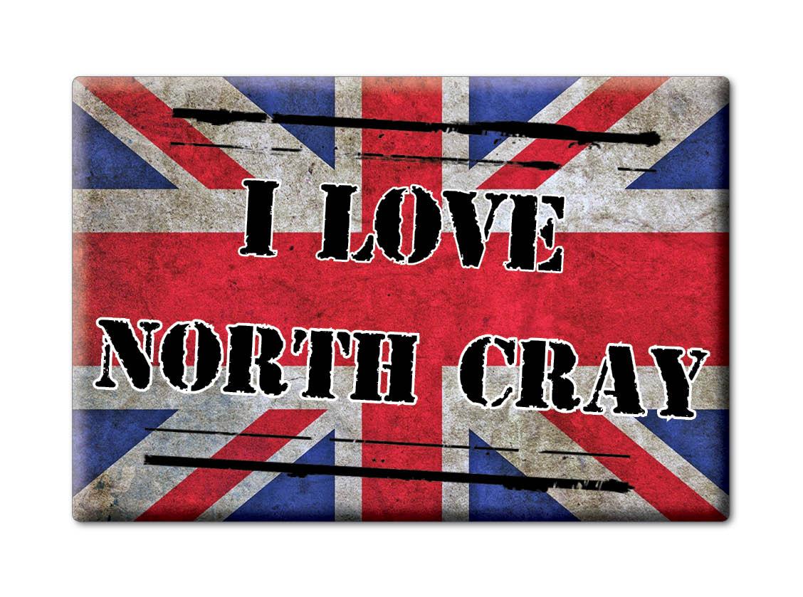 SOUVENIR-UK-ENGLAND-LONDON-FRIDGE-MAGNET-UK-I-LOVE-NORTH-CRAY-ENG
