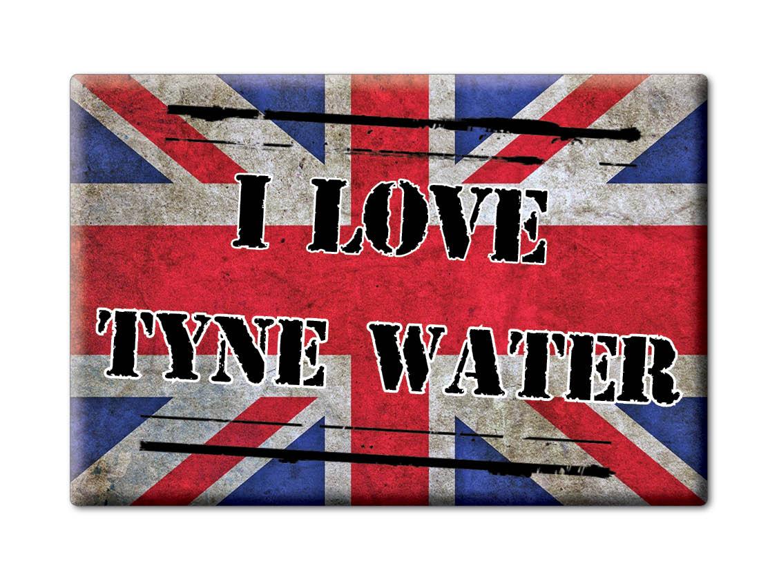 SOUVENIR-UK-SCOTLAND-MIDLOTHIAN-FRIDGE-MAGNET-UK-I-LOVE-TYNE-WATER-SCO