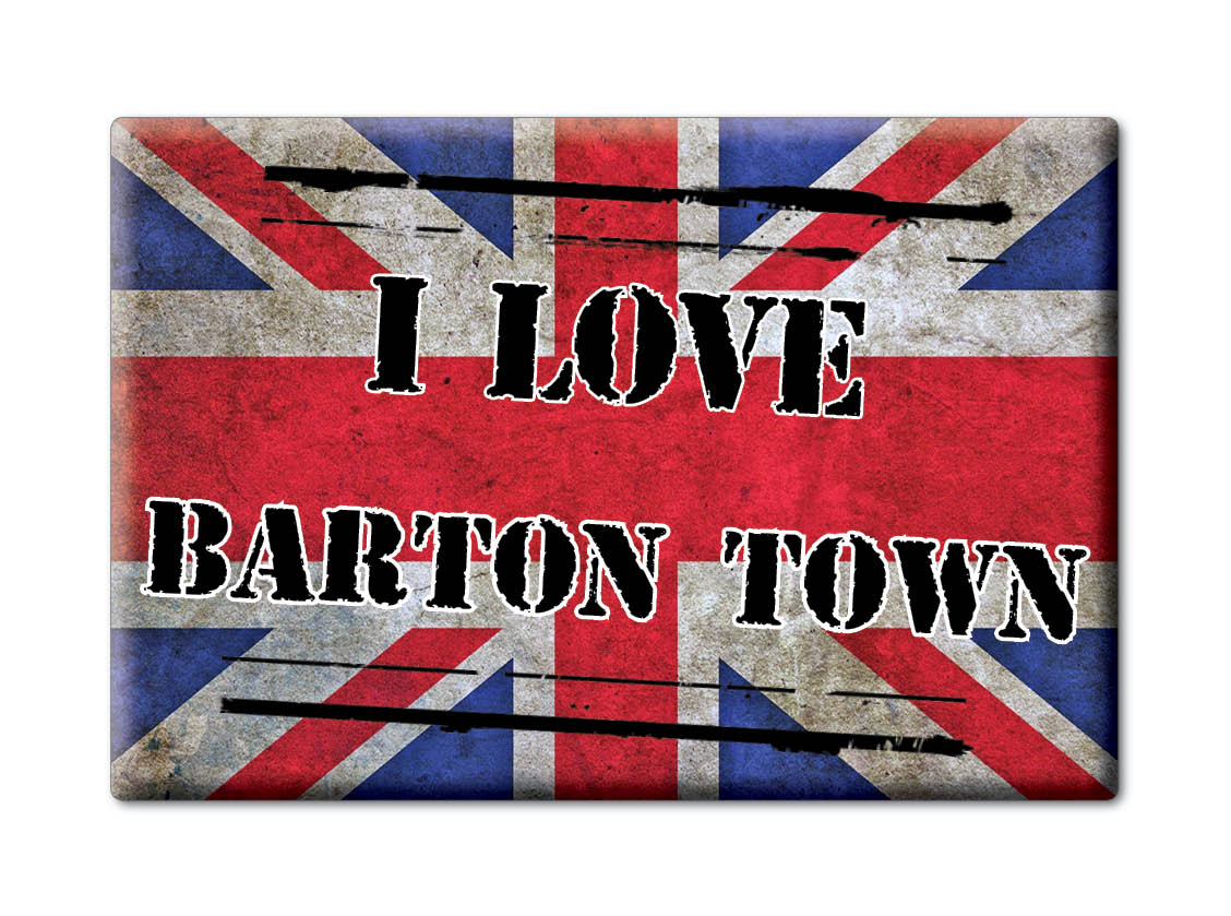 SOUVENIR-UK-ENGLAND-DEVON-FRIDGE-MAGNET-UK-I-LOVE-BARTON-TOWN-ENG