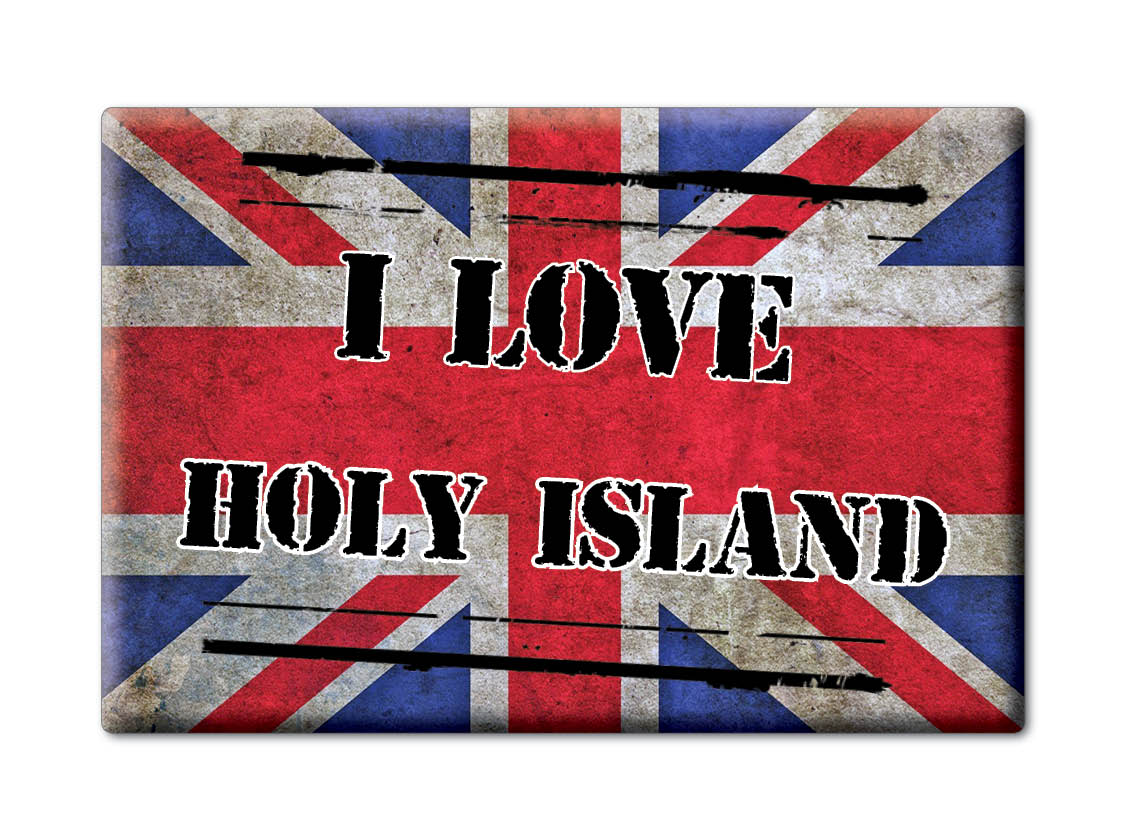SOUVENIR-UK-SCOTLAND-AYRSHIRE-FRIDGE-MAGNET-UK-I-LOVE-HOLY-ISLAND-SCO